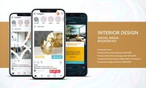 Interior Design Social Media Kit 8CBTQY8