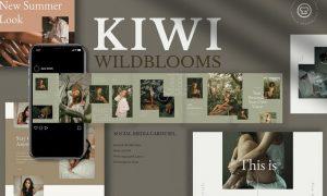 Kiwi Wildblooms Insta Carousel K2FJ6LK