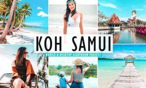 Koh Samui Mobile & Desktop Lightroom Presets