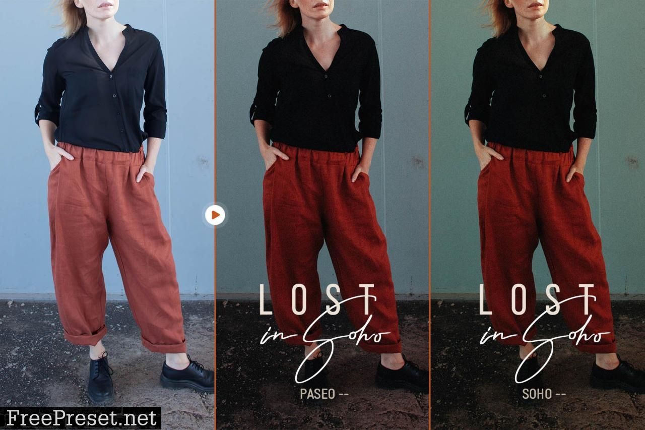 Lost in Soho - Lightroom & ACR Presets 5449067