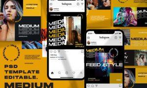 Medium - Instagram Template PPR9F2B