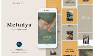 MELUDYA Instagram Posts & Stories Q9XL8EU
