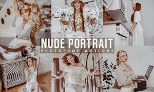 Nude Portrait Actions 7Q3JMWE