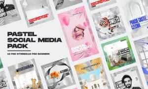 Pastel Social Media Pack A7DK5ML