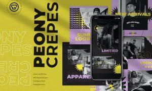 Peony Crepes Insta Pack N2WVYE6