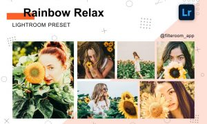 Rainbow Relax - Lightroom Presets 5236620