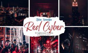Red Cyber Lightroom Presets
