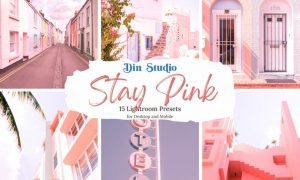 Stay Pink Lightroom Presets
