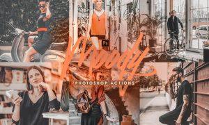 Street Mood Photoshop Actions X34489P