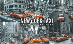 Street Taxi New York Actions MGWTLVE