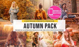 The Autumn Lightroom Presets