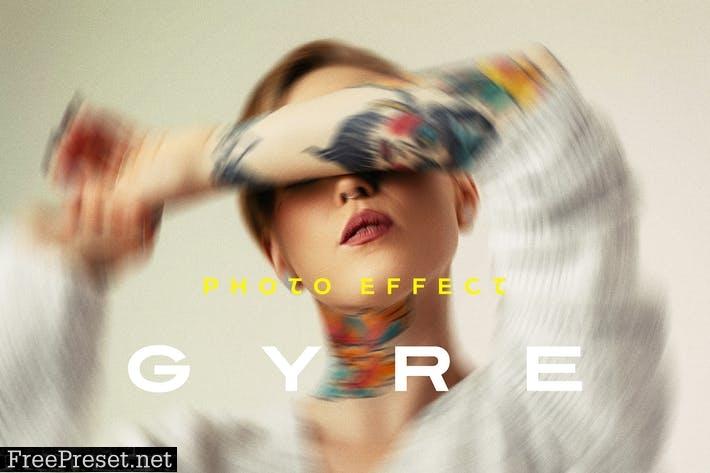 Twisted Photo Effect Z39RUD9