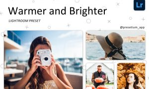 Warmer & Brighter Lightroom Presets 5227431