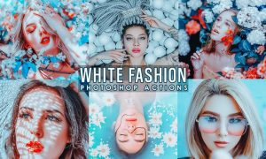 White Fashion Photoshop Actions L8VXL9U