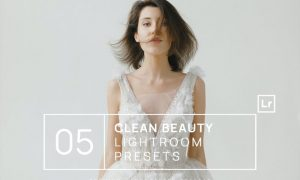 5 Clean Natural Beauty Lightroom Presets + Mobile