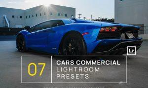 7 Cars Commercial Lightroom Presets + Mobile