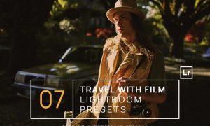 7 Travel with Film Lightroom Presets + Mobile