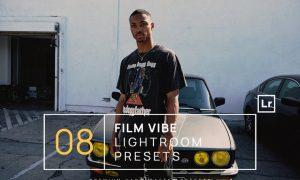 8 Film Vibe Lightroom Presets + Mobile