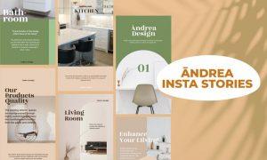 Andrea Design Insta Stories Template SHKHEQ3