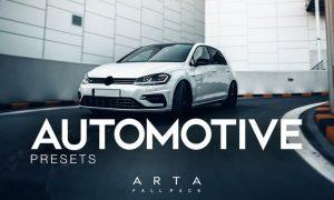 ARTA Automotive Presets For Mobile and Desktop Lig