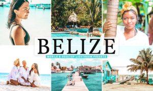 Belize Mobile & Desktop Lightroom Presets