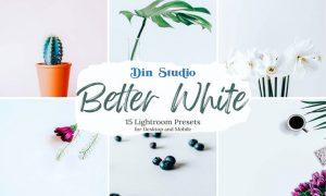 Better White Lightroom Presets