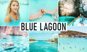 Blue Lagoon Mobile & Desktop Lightroom Presets