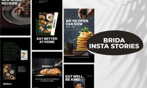 Brida - Insta Stories Template VA72SD9