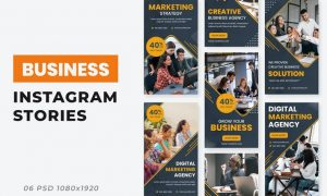 Business Agency Ad Instagram Stories DES5SAV