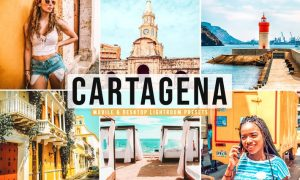 Cartagena Mobile & Desktop Lightroom Presets