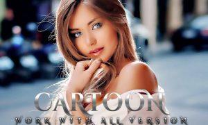 Cartoon Portrait Photoshop Action G38G72M