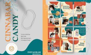 Cinnabar Candy Instagram Puzzle 6XQ94V7