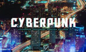 CityScape CyberPunk Photoshop Actions XJRFC5P