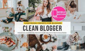 Clean blogger Lightroom presets