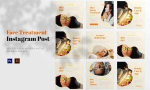 Face Treatment Social Media Post 7ALDFR7