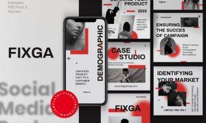 Fixga - Post & Story Instagram Vol.1 PZP8QHD