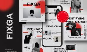 Fixga - Post & Story Instagram Vol.2 FTMZXH4