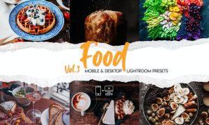 Food Lightroom Presets Vol. 3