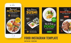 Food Promo Instagram Story BUQ4WHR