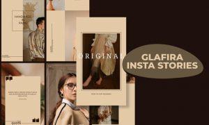 Glafira Insta Stories Template DTGZHHE