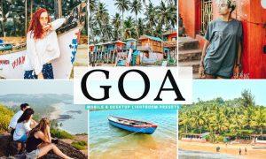 Goa Mobile & Desktop Lightroom Presets