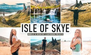 Isle of Skye Mobile & Desktop Lightroom Presets