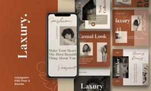 Laxury - Post & Story Instagram Vol.1 FMATU7B
