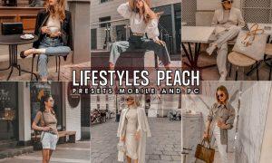 Lifestyles Peach Look Lightroom Presets