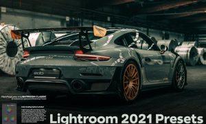 Lightroom 2021 New Features Presets