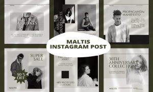 Maltis Instagram Template SUJME4Q