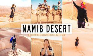 Namib Desert Mobile & Desktop Lightroom Presets