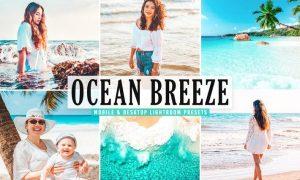 Ocean Breeze Mobile & Desktop Lightroom Presets