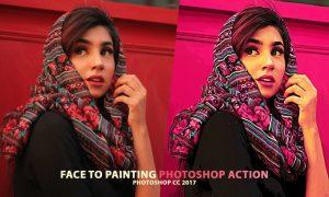 Portrait to Painting Action Set JK9PARL