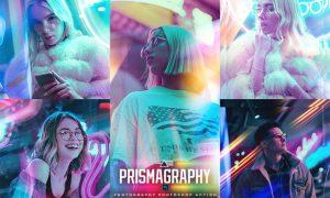 Prismagraphy Photoshop Action H9K26QK